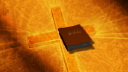 Royalty Free Video of a Shimmering Cross With a Bible That Opens and Closes