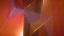 Royalty Free HD Video Clip of Spinning 3D Triangles