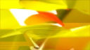 Royalty Free HD Video Clip of Rotating Abstract Yellow and Orange Objects