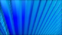 Royalty Free HD Video Clip of an Abstract Blue Conveyor Belt