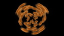 Royalty Free Video of a Spinning Circular Object