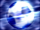 Royalty Free Video of an Abstract Soccer Ball