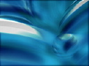 Royalty Free Video of a Swirling Blue Abstract Pattern