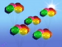Royalty Free Video of Balloons