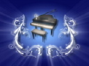 Royalty Free Video of a Piano