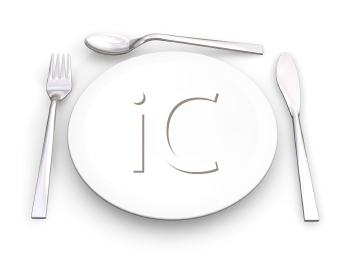 Royalty Free Clipart Image of a Place Setting