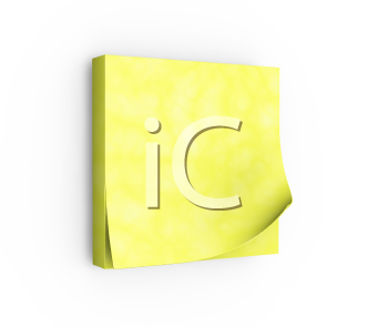 Royalty Free Clipart Image of Post-it Notes