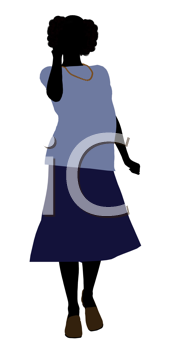 Royalty Free Clipart Image of a Grandma