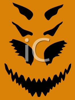 Royalty Free Clipart Image of Halloween Graphics