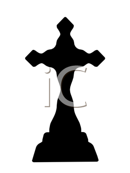 Royalty Free Clipart Image of a Cross