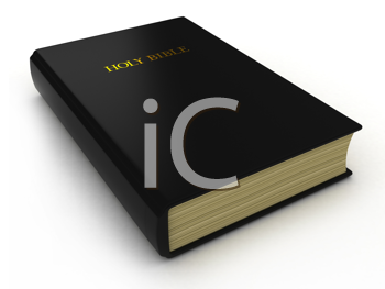 3D Illustration of a Holy Bible
