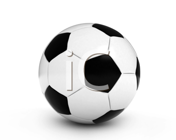 3D Illustration of a Soccer Ball