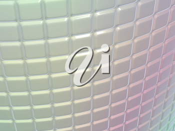 Fluted metal pattern with gradient colors. Useful as background