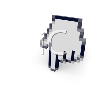 Royalty Free Clipart Image of a Cursor