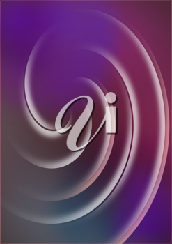 Royalty Free Clipart Image of a Swirled Background
