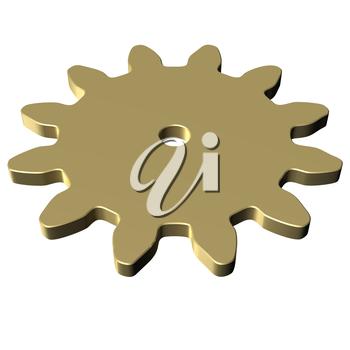 Gear wheel, as concept of part of the equipment