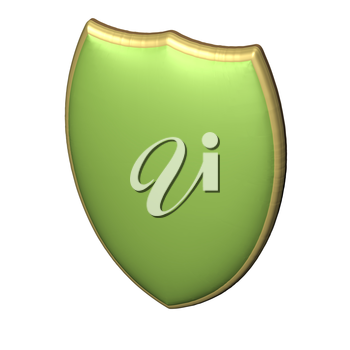 Image of a sheild, as concept of information security and protection of communications