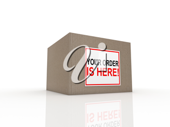 special delivery important shipment special package sending express shipping