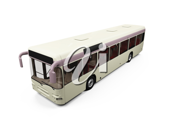 Royalty Free Photo of a City Bus