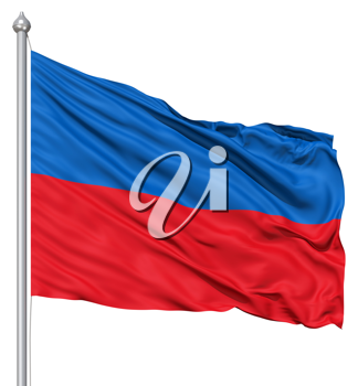 Royalty Free Clipart Image of a Flag