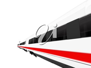 Royalty Free Clipart Image of a Train