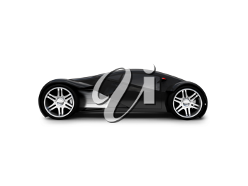 Royalty Free Clipart Image of a Lexus