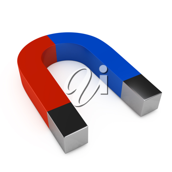 Royalty Free Clipart Image of a Magnet