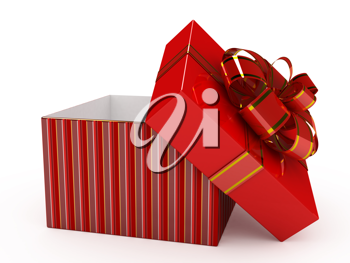 Royalty Free Clipart Image of a Present