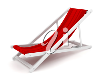 Royalty Free Clipart Image of a Lounge Chair