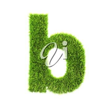 Royalty Free Clipart Image of a Letter 'b'