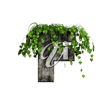 Royalty Free Clipart Image of a Letter 'F'
