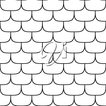 Royalty Free Clipart Image of a Scaly Texture