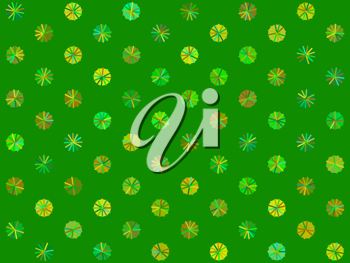Royalty Free Clipart Image of a Seamless Background