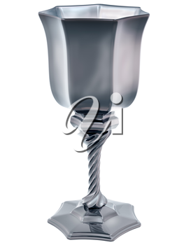 Royalty Free Clipart Image of a Cup