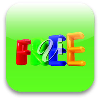 Free colorful icon