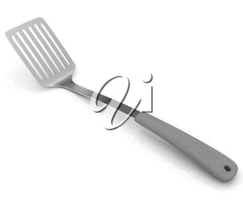 Cutlery on a white background