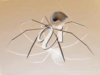 Chrome spider