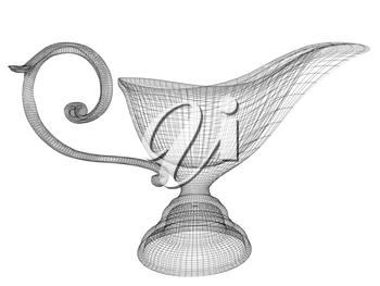 Vase in the eastern style