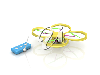 Drone with remote controller