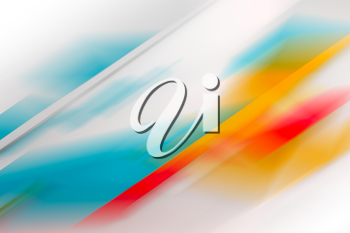 Abstract blurred background with colorful pattern, 3 d illustration