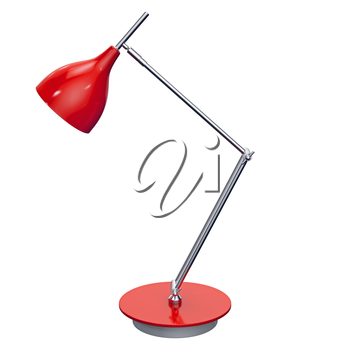 Nice office and home decoration with an utilitarian function. 3d graphic object on white background isolated