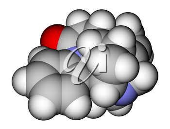 Strychnine, a highly toxic alkaloid that couses muscular convulsions and death through asphyxia