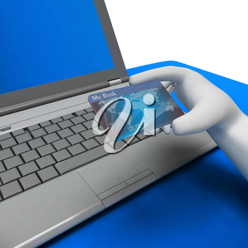 Credit Card Meaning World Wide Web And Website 3d Rendering