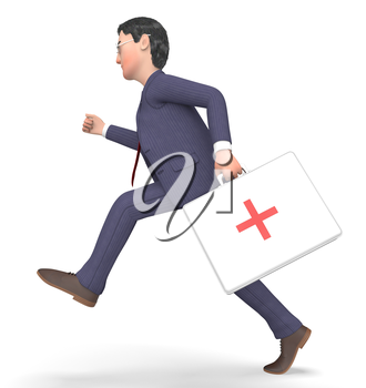 First Aid Meaning General Practitioner And Doctors 3d Rendering