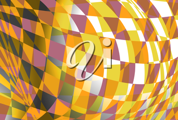 Abstract square background illustration