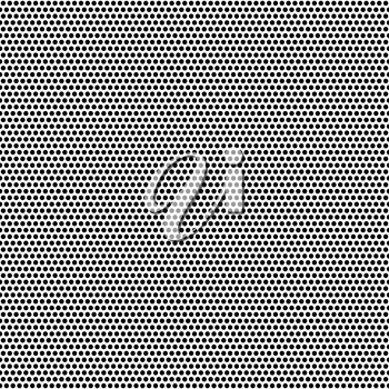 Basic halftone dots effect in black and white color. Halftone effect. Dot halftone. Black white halftone.