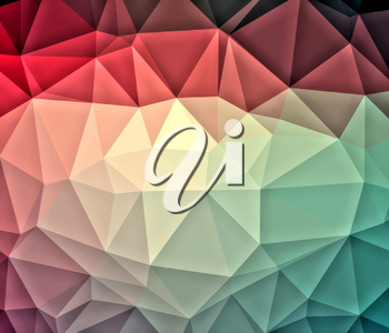 Low poly background. Polygonal or triangular abstract color background. Polygonal pattern. Low poly pattern.