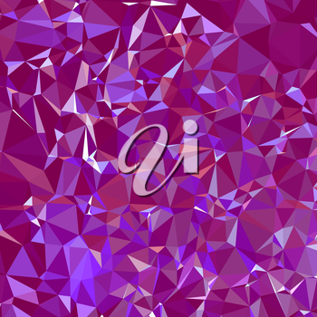 Abstract 3d purple polygonal and low poly background. Background with purple triangles.