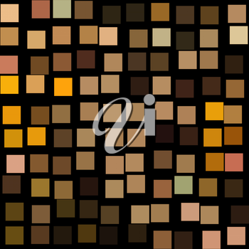 Checkered background. Digitally created squares pattern illustration.
